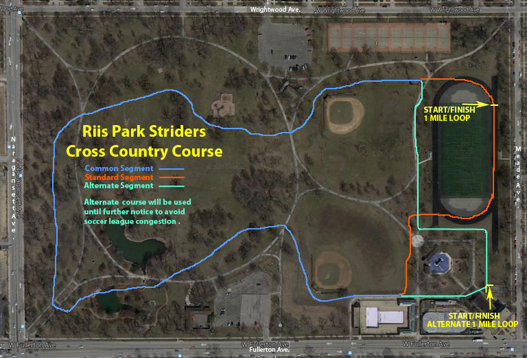 Riis Park Striders Road Course